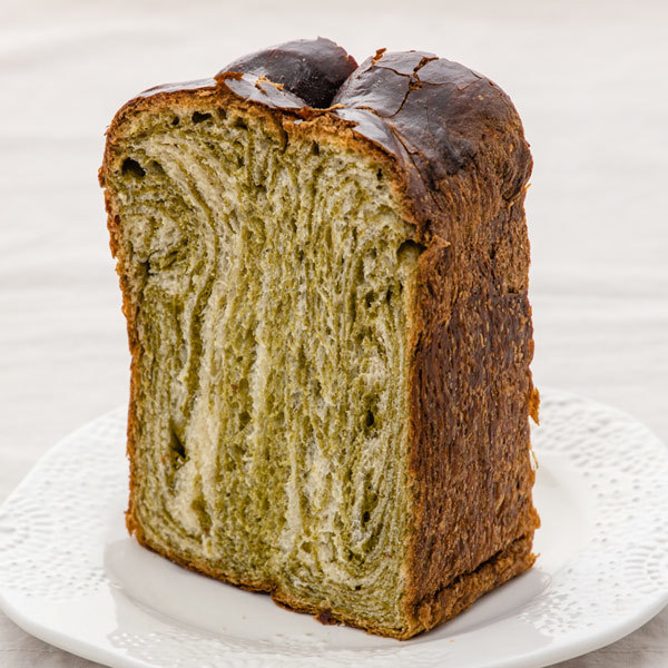 3557 japan centre matcha green tea shoku pan bread loaf