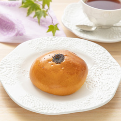 5802 japanese red bean bun breakfast