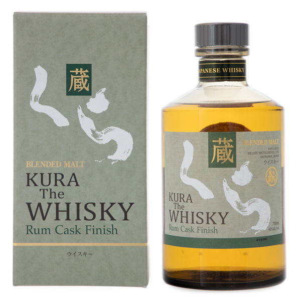 14813 helios distillery co. kura the whisky   blended malt  rum cask finish