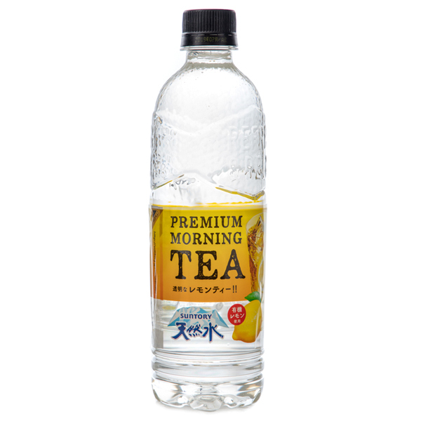 14770 suntory premium moring lemon tea flavoured water
