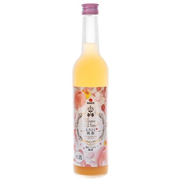 14824 nakatashokuhin momohime torokoku peach and ume flavoured liqueur