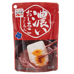 14736 nagatanien thick oshiruko red bean paste soup dessert