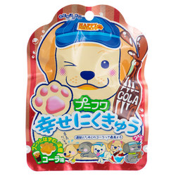 14752 senjyakuame nikukyu paw shaped cola gummy candy