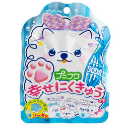 14753 senjyakuame nikukyu paw shaped soda gummy candy