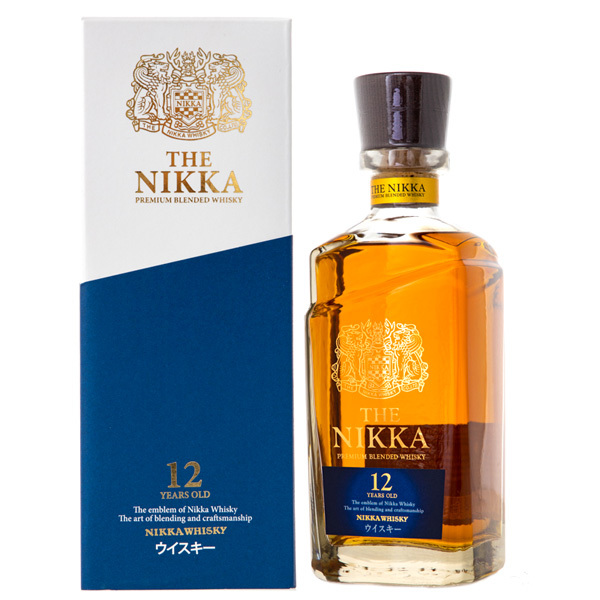 14819 the nikka premium blended whisky   12 years old