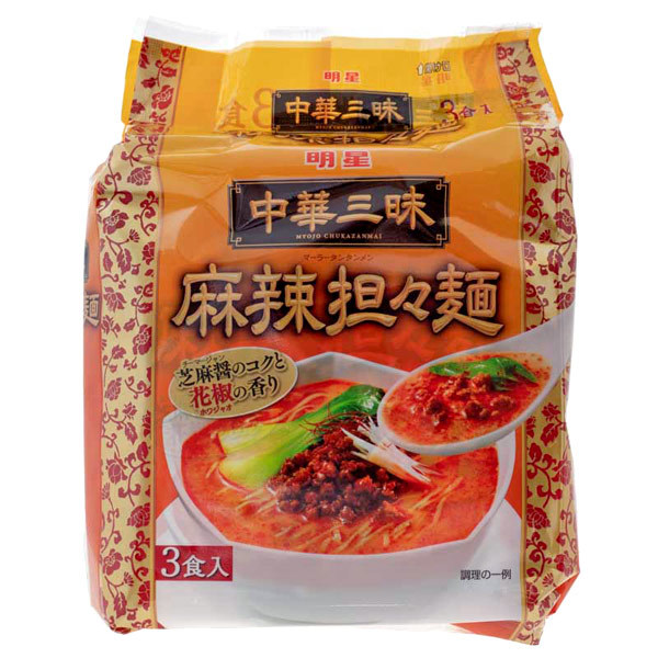 14717 myojo instant luxury tantanmen sesame and chilli sauce ramen
