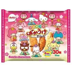 14855  assortment rice crackers   hina matsuri edition