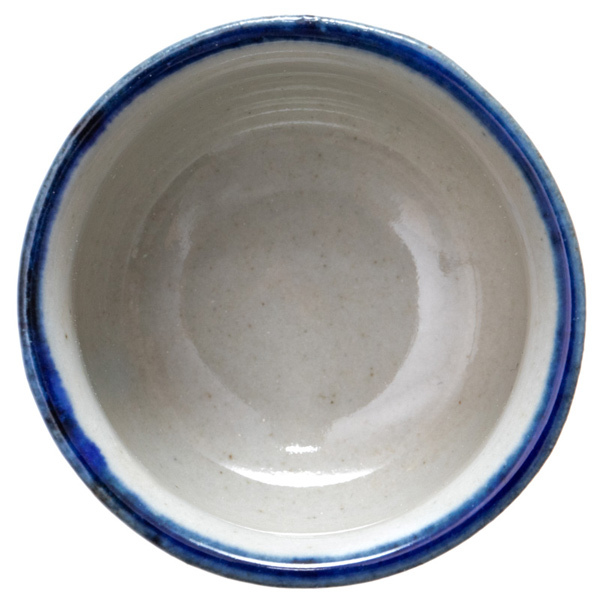 14699 ceramic sake ochoko   from above