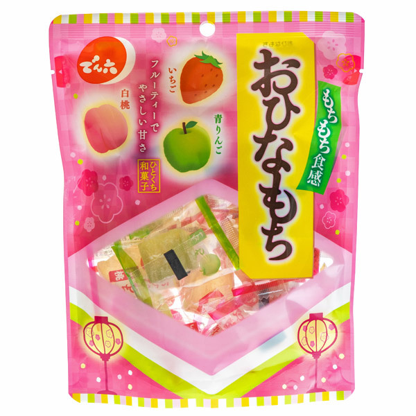 14862 denroku ohinamochi assorted jelly cakes