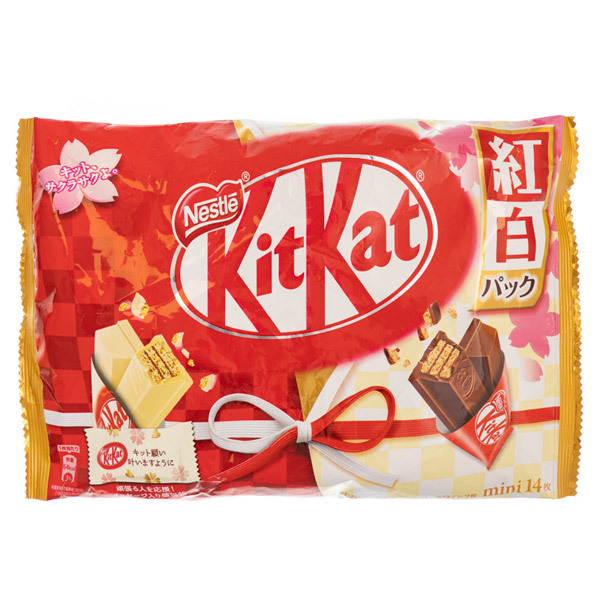 14869 nestle kitkat mini share pack   white and milk chocolate variety pack