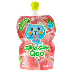 14873 coco cola qoo peach flavoured jelly drink