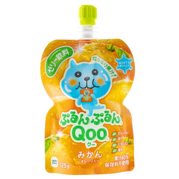 14874 coco cola qoo mandarin orange jelly drink