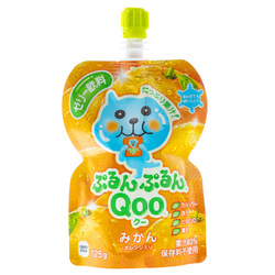 14874 coco cola qoo mandarin orange jelly drink