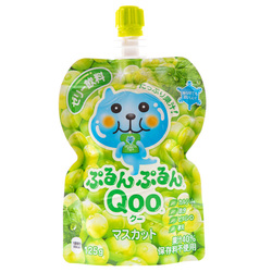 14875 coco cola qoo muscat grape flavoured jelly drink