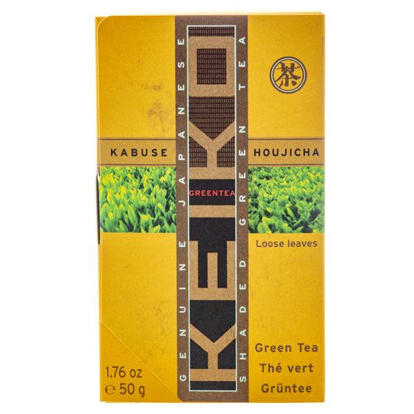14878 keiko tea organic loose kabuse hojicha roasted green tea
