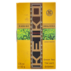 14878 keiko tea organic loose kabuse hojicha roasted green tea