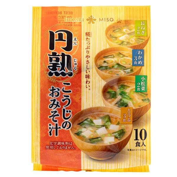 14881 hikari miso instant koji miso soup variety pack