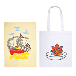 14931 limited edition gudetama shoryu good box  towel and tote bag