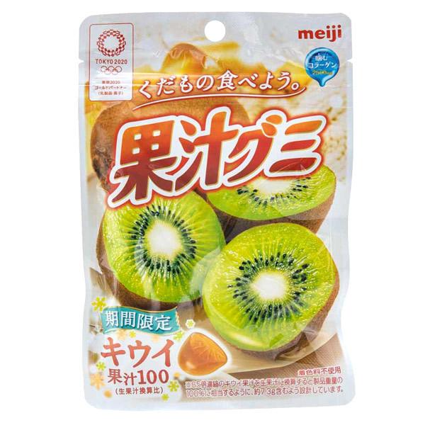14953 meiji fruit juice kiwi gummy