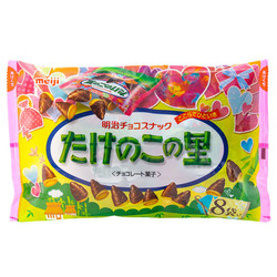 14947 meiji takenoko no sato chocolate biscuits share pack