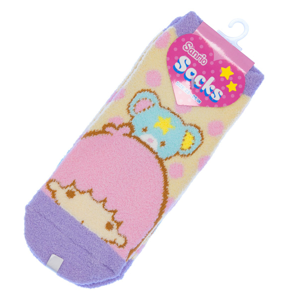 15029  sanrio unisex socks   little twin stars
