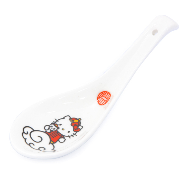 15037  sanrio hello kitty ceramic renge spoon