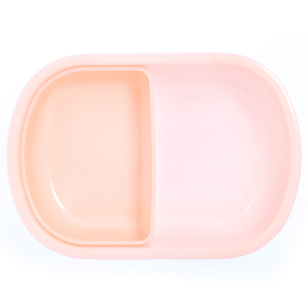 15039  sanrio little twin stars bento food container   raised character design   open container