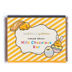 15048  creighton's chocolaterie shoryu x gudetama limited edition mini milk chocolate bar