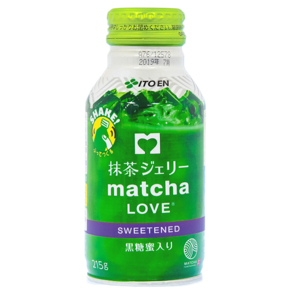 15052  itoen sweetened matcha green tea jelly drink