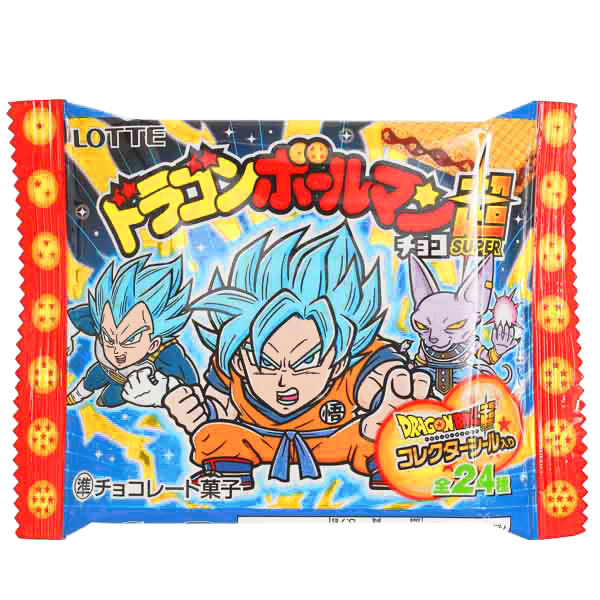 15069  lotte dragonball chocolate wafer biscuit