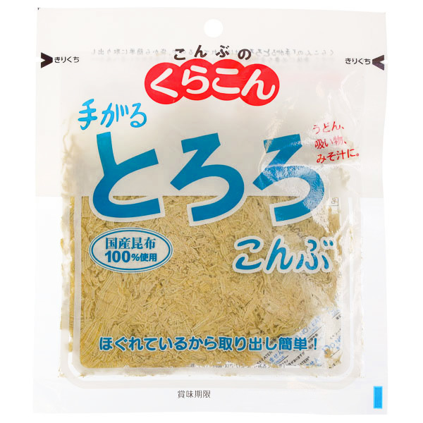 15070  kurakon seasoned tororo shaved dried kombu kelp