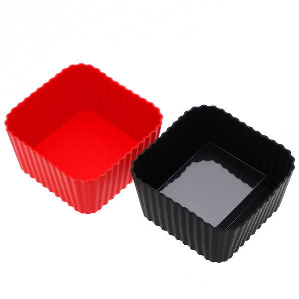 15093  hakoya silicon food cups   square shaped   outside box