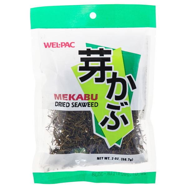 12846  wel pac dried mekabu wakame seaweed stems