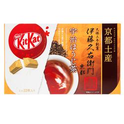 4938  nestl%c3%a9 kitkat mini gift box   hojicha green tea %28itokyuemon kitto katto%29