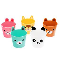 15140  torune mama's assist mini animal party plastic cup set   separate