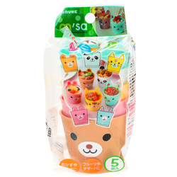 15140  torune mama's assist mini animal party plastic cup set   packaged