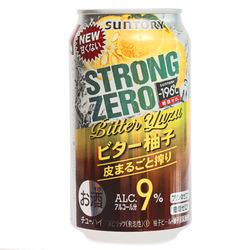 15196  suntory  196%c2%bac strong zero bitter yuzu citrus chuhai spritzer