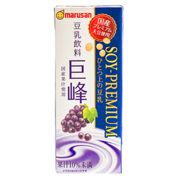 15192  marusanai grape premium soy milk drink