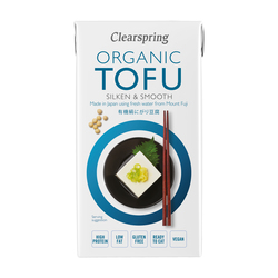 Cs710 organic japanese tofu   silken   smooth