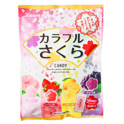 15213  kanro sakura blossom shaped boiled sweets