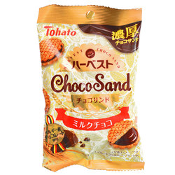 15217  tohato harvest milk chocolate sandwich biscuits