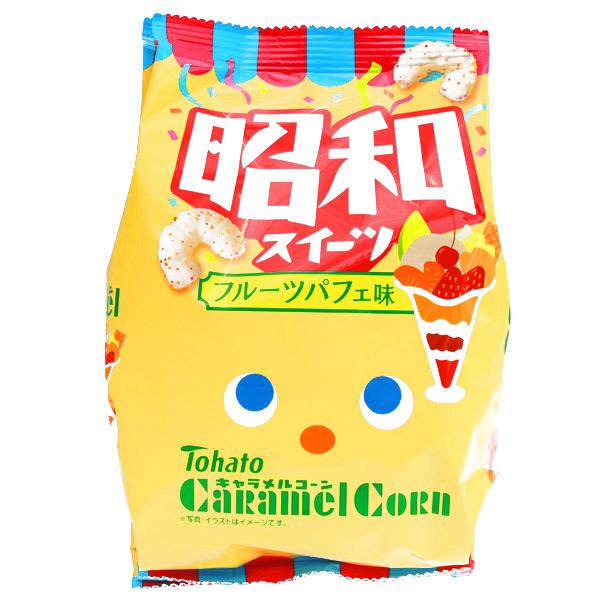 15221  tohato caramel corn fruit parfait snacks