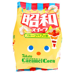 15221  tohato caramel corn fruit parfait snacks