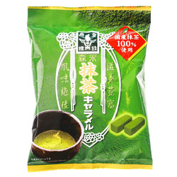 15224  morinaga matcha green tea flavoured caramels