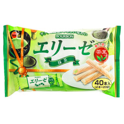 15209  bourbon elise matcha cream wafers