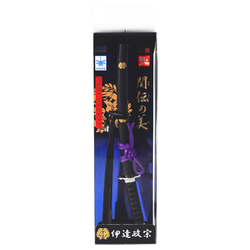 15284  nikken cultery samurai sword letter opener  date masamune   box