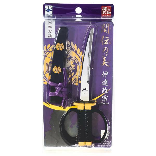 15288  nikken cultery samurai sword style scissors   date masamune model   box