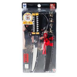 15289  nikken cultery samurai sword style scissors   black   box