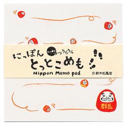 15292  suzuki shofudo nippon tottoko memo pad   gunma