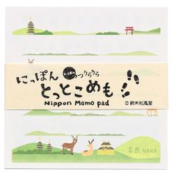 15292  suzuki shofudo nippon tottoko memo pad   nara